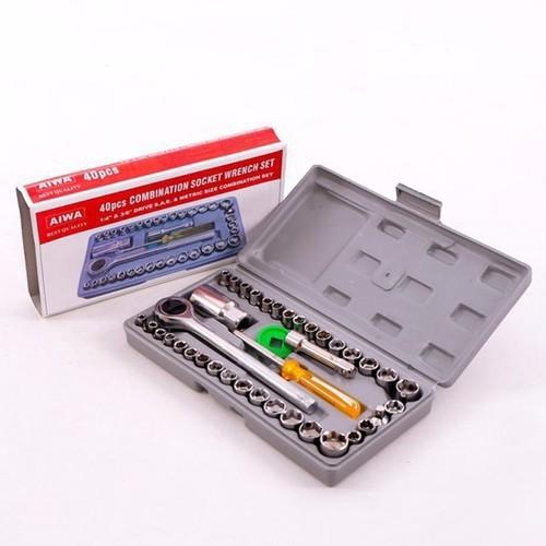 Bộ dụng cụ sửa chữa đa năng 40 món chuyên dụng cho ô tô, xe máy - 5750184 , 12208484 , 15_12208484 , 69000 , Bo-dung-cu-sua-chua-da-nang-40-mon-chuyen-dung-cho-o-to-xe-may-15_12208484 , sendo.vn , Bộ dụng cụ sửa chữa đa năng 40 món chuyên dụng cho ô tô, xe máy