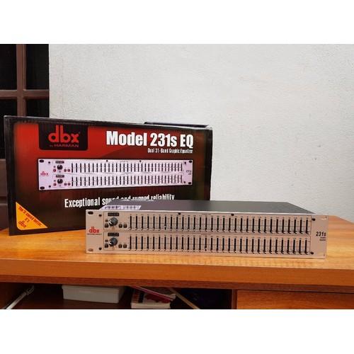 Lọc xì equalizer dbx 231s-thiết bị lọc âm thanh cao cấp dbx 231s-tặng dây canon