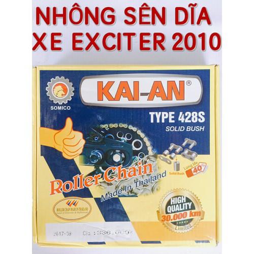 NHÔNG SÊN DĨA EXCITER 2010