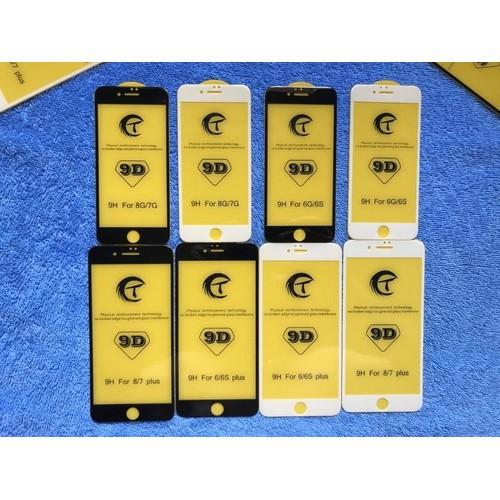 [RẺ VÔ ĐỊCH] Kính Cường Lực 9D Full Màn Cho Iphone 7plus  8 plus