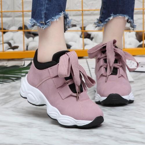Giày dây to Giày thể thao nữ giày sneaker nữ đế cao kiểu dáng Hàn Quốc - 5739217 , 12194892 , 15_12194892 , 228000 , Giay-day-to-Giay-the-thao-nu-giay-sneaker-nu-de-cao-kieu-dang-Han-Quoc-15_12194892 , sendo.vn , Giày dây to Giày thể thao nữ giày sneaker nữ đế cao kiểu dáng Hàn Quốc
