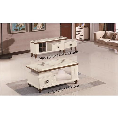 Bộ bàn sofa và kệ tivi hiện đại nhập PH233-16 cao cấp