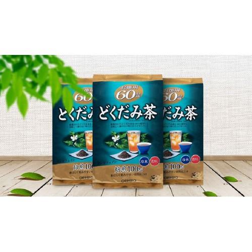 Trà Thải Độc Diếp Cá Orihiro Xuất xứ Nhật Bản 60 gói