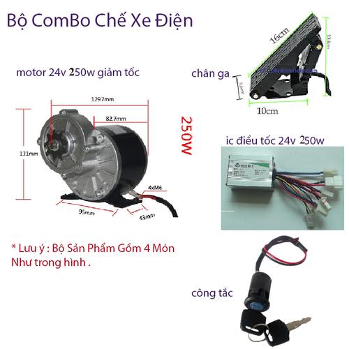 Combo chế xe điện motor 24v 250w giảm tốc - 5750443 , 12208838 , 15_12208838 , 982000 , Combo-che-xe-dien-motor-24v-250w-giam-toc-15_12208838 , sendo.vn , Combo chế xe điện motor 24v 250w giảm tốc