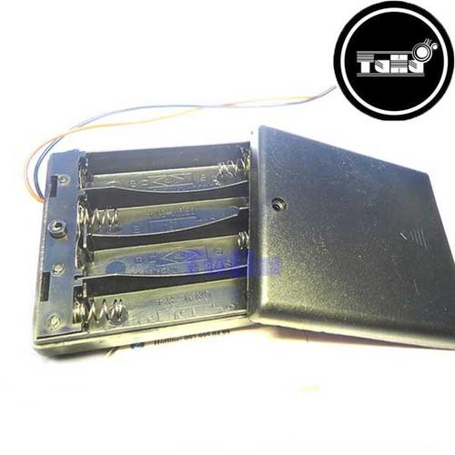 Combo 2 Đế pin AA4 Có Nắp Giá Rẻ - Linh Kiện Điện Tử TuHu
