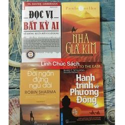 Combo 4 Sách Kỹ Năng: Hành Trình - Đời Ngắn - Giả Kim - Đọc Vị
