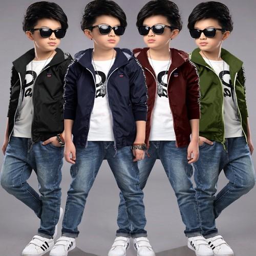 Áo Khoác Trẻ Em Từ 4T đến 10T Thời Trang - JZ0746