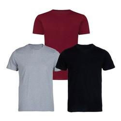 combo 3 áo thun nam cổ tròn – tặng giá đỡ điện thoại ipad