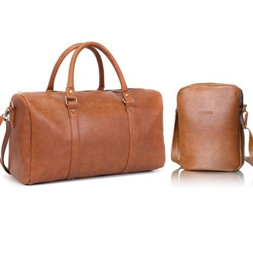 Bộ đôi túi du lịch KÈM túi đeo chéo HANAMA N1- S200