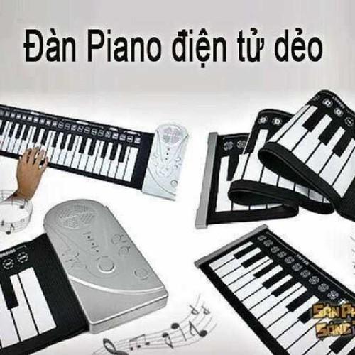 Đàn piano điện tử bàn phím cuộn dẻo 49 phím chức năng