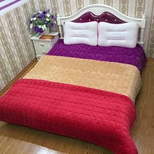 Thảm nhung trải giường 1m8