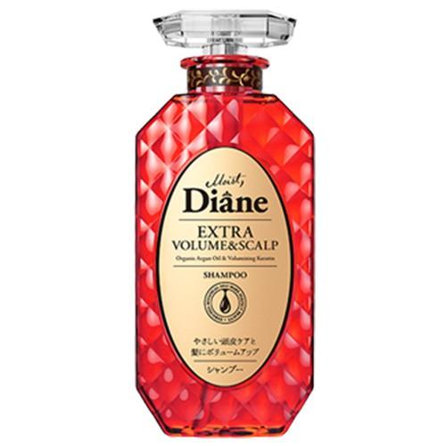 Dầu gội Diane ngăn rụng và làm phồng tóc Nhật Bản 450ml chai đỏ