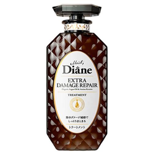 Dầu xả phục hồi tóc hư tổn nặng Diane Nhật Bản 450ml Chai đen