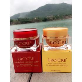 Bộ đôi dưỡng da mặt ngày và đêm Lrocre - LROND