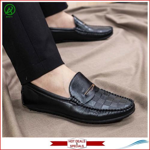 Giày Mọi Nam| Giày da| Giày nam đẹp| M118