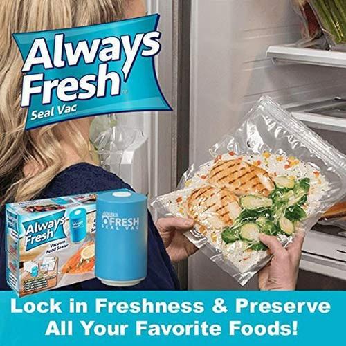 Máy hút chân không thực phẩm Always Fresh kèm túi