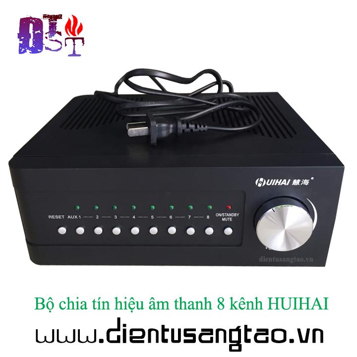 Bộ chia tín hiệu âm thanh 8 kênh HUIHAI