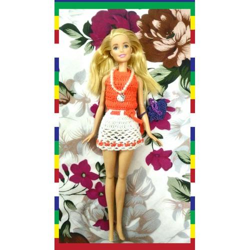 Búp bê Barbie Duyên Dáng - set đồ len áo váy cam túi tím - 5761103 , 12225018 , 15_12225018 , 400000 , Bup-be-Barbie-Duyen-Dang-set-do-len-ao-vay-cam-tui-tim-15_12225018 , sendo.vn , Búp bê Barbie Duyên Dáng - set đồ len áo váy cam túi tím
