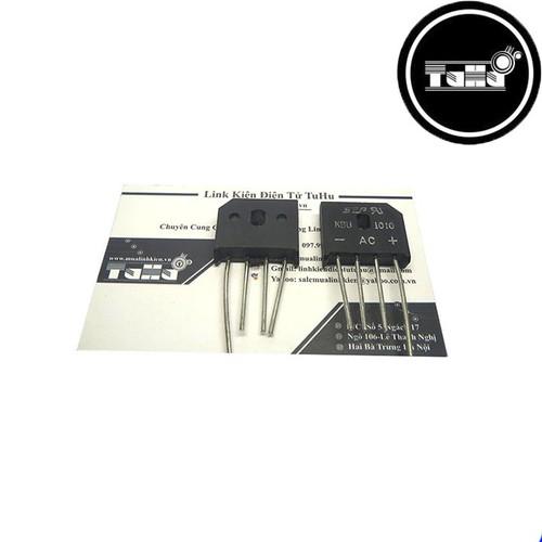 Combo 10 Diode Cầu 10A Dẹt KBU1010 Giá Rẻ - Linh Kiện Điện Tử TuHu