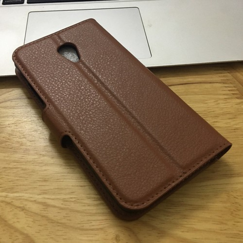 Meizu-A5 M5C - Bao da điện thoại di động chất liệu giả da PU