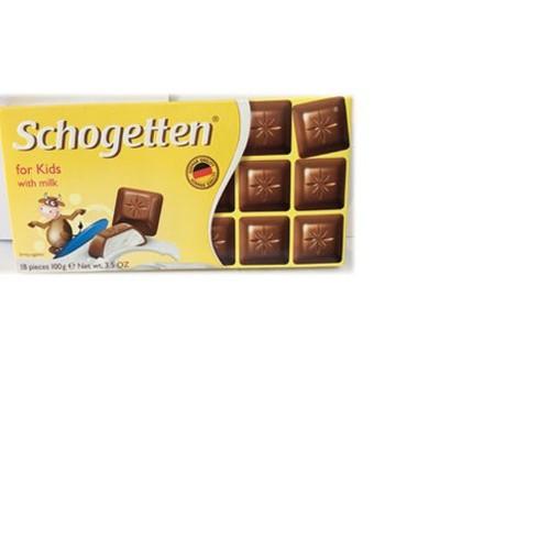 "Sôcôla Schogetten vị sữa cho trẻ em ""For Kid"" – thanh 100g - 5757762 , 12218188 , 15_12218188 , 76000 , Socola-Schogetten-vi-sua-cho-tre-em-For-Kid-thanh-100g-15_12218188 , sendo.vn , Sôcôla Schogetten vị sữa cho trẻ em ""For Kid"" – thanh 100g"
