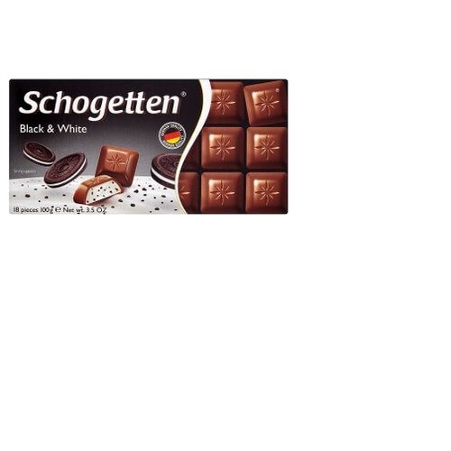 """Sôcôla Schogetten nhân bánh quy kem """"Black  White"""" 100g - 5757739 , 12218148 , 15_12218148 , 76000 , Socola-Schogetten-nhan-banh-quy-kem-Black-White-100g-15_12218148 , sendo.vn , Sôcôla Schogetten nhân bánh quy kem """"Black  White"""" 100g"""
