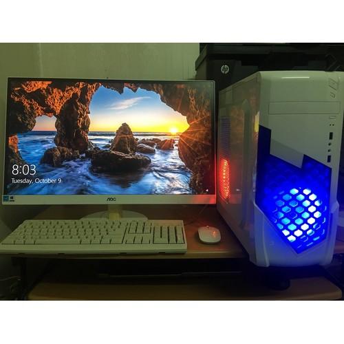 [DÒNG CAO CẤP] Bộ máy tính để bàn Màn 27 inch full hd full viền, Chip I5-2400 linh kiện đời cao, ổ SSD or HDD, ram 8G or 16G, Vga rời Flagship- CHUYÊN GAME NẶNG PUBG, GATA 5..STREAM, EDIT VIDEO, YOUTO - 11163807 , 12225741 , 15_12225741 , 7600000 , DONG-CAO-CAP-Bo-may-tinh-de-ban-Man-27-inch-full-hd-full-vien-Chip-I5-2400-linh-kien-doi-cao-o-SSD-or-HDD-ram-8G-or-16G-Vga-roi-Flagship-CHUYEN-GAME-NANG-PUBG-GATA-5..STREAM-EDIT-VIDEO-YOUTOBE-Tron-bo-KM-