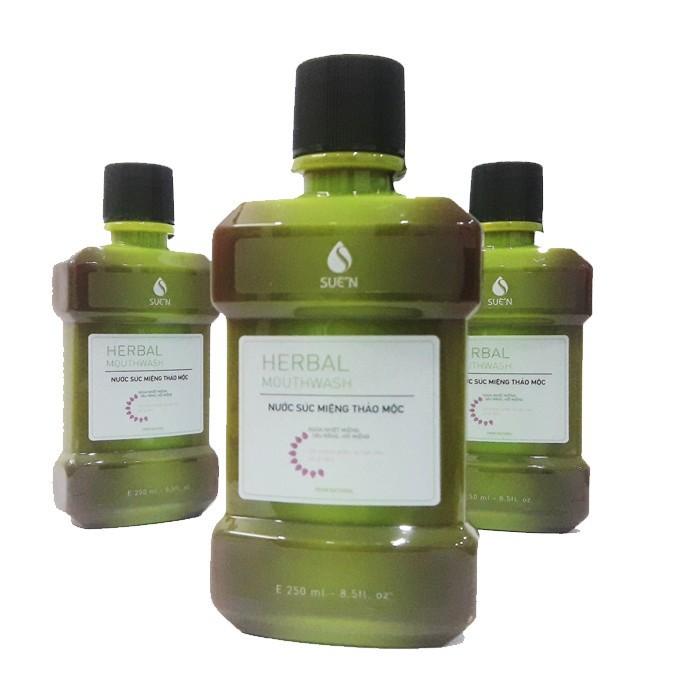 Nước súc miệng thảo dược herbalmouwash 2