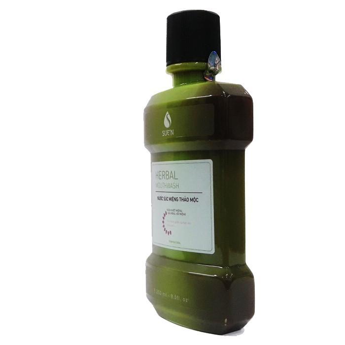 Nước súc miệng thảo dược herbalmouwash 4