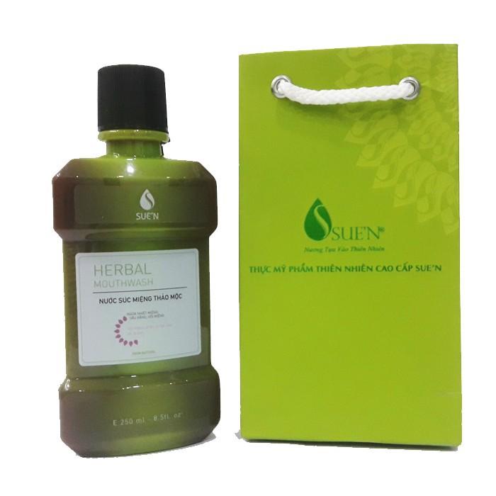 Nước súc miệng thảo dược herbalmouwash 5