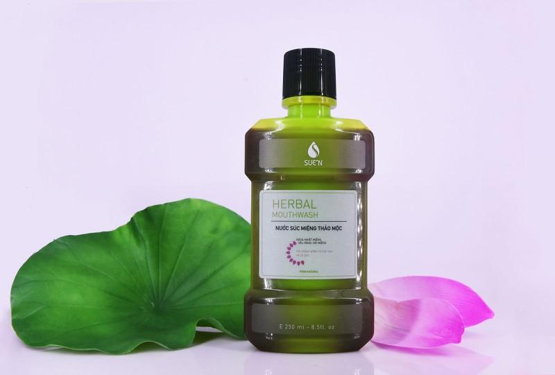 Nước súc miệng thảo dược herbalmouwash 6