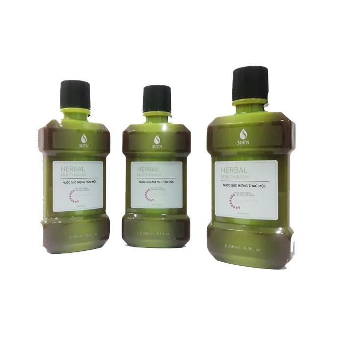 Nước súc miệng thảo dược herbalmouwash 1