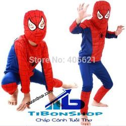 Trang Phục hóa Trang halloween-người nhện