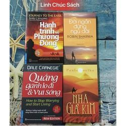 Combo 4 Sách Kỹ Năng: Giả Kim - Quẳng - Đời Ngắn - Hành Trình