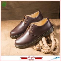 Giày Boot Nam Cổ Ngắn Màu Nau   Shop Giày Nam   Khẳng Định Đẳng Cấp   Đế Khâu Chắc Chắn - Phong Cách Đơn Giản, Trẻ Trung, Cá Tính, Dễ Phối Với Nhiều Loại Trang Phục - Luôn Đảm Bảo Về Chất Lượng Và Giá Tốt - Ship Cod Toàn Quốc - Giày Nam Đẹp- M353-Nau