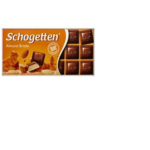 "Sôcôla Schogetten nhân hạnh nhân ""Almond Brittle""– thanh 100g - 5761904 , 12229811 , 15_12229811 , 76000 , Socola-Schogetten-nhan-hanh-nhan-Almond-Brittle-thanh-100g-15_12229811 , sendo.vn , Sôcôla Schogetten nhân hạnh nhân ""Almond Brittle""– thanh 100g"