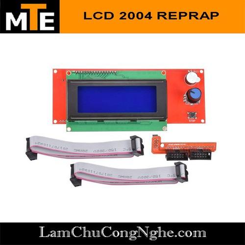 Bảng điều khiển màn hình LCD 2004 cho máy CNC, máy in 3D Reprap - 10882058 , 12240842 , 15_12240842 , 155000 , Bang-dieu-khien-man-hinh-LCD-2004-cho-may-CNC-may-in-3D-Reprap-15_12240842 , sendo.vn , Bảng điều khiển màn hình LCD 2004 cho máy CNC, máy in 3D Reprap