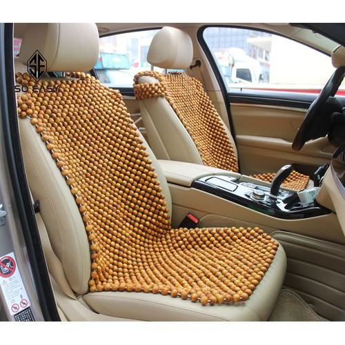 Tấm, miếng Đệm lót dành cho ghế lái hoặc ghế phụ xe hơi DL08-vàng