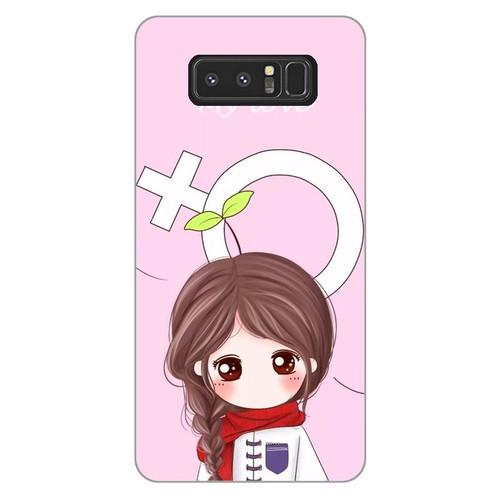 Ốp lưng điện thoại samsung galaxy note 8 - couple girl 06