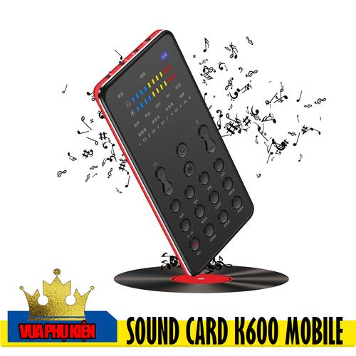 Sound Card K600 Mobile Auto Tune Live Stream - 5765248 , 12233368 , 15_12233368 , 1526000 , Sound-Card-K600-Mobile-Auto-Tune-Live-Stream-15_12233368 , sendo.vn , Sound Card K600 Mobile Auto Tune Live Stream