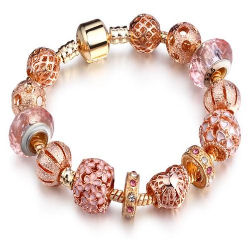 Vòng charm đính đá lấp lánh Sendo thời trang LK626