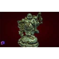 Tượng Phật Di Lặc gánh đào