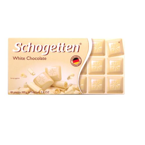 """Sôcôla trắng Schogetten """"White Chocolate"""" – thanh 100g - 5761839 , 12229670 , 15_12229670 , 76000 , Socola-trang-Schogetten-White-Chocolate-thanh-100g-15_12229670 , sendo.vn , Sôcôla trắng Schogetten """"White Chocolate"""" – thanh 100g"""