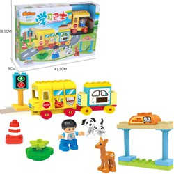 Bộ xếp hình tương thích Lego- Duplo - StaPaw 3331 - 41 chi tiết