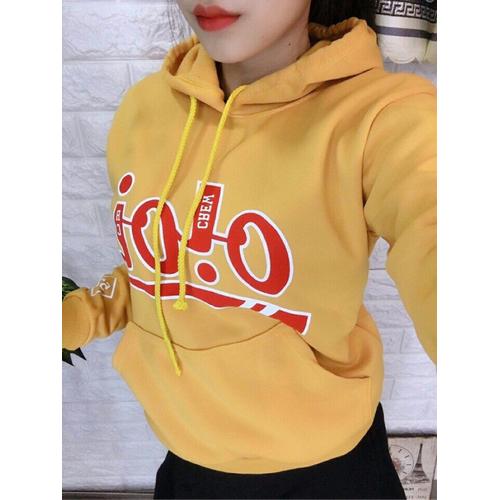 Áo hoodie in OI OI