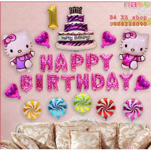 Set trang trí sinh nhật mèo Kitty cho bé gái - Tặng kèm bơm và keo dán - 5785031 , 12258777 , 15_12258777 , 195000 , Set-trang-tri-sinh-nhat-meo-Kitty-cho-be-gai-Tang-kem-bom-va-keo-dan-15_12258777 , sendo.vn , Set trang trí sinh nhật mèo Kitty cho bé gái - Tặng kèm bơm và keo dán