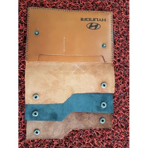 Ví đựng giấy tờ xe logo Huyndai
