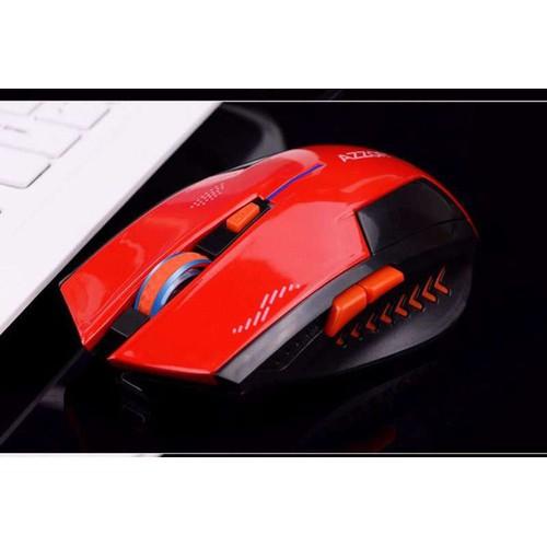 Chuột không dây cao cấp AZZOR dùng pin sạc - màu Đỏ - 5787559 , 12262635 , 15_12262635 , 172000 , Chuot-khong-day-cao-cap-AZZOR-dung-pin-sac-mau-Do-15_12262635 , sendo.vn , Chuột không dây cao cấp AZZOR dùng pin sạc - màu Đỏ