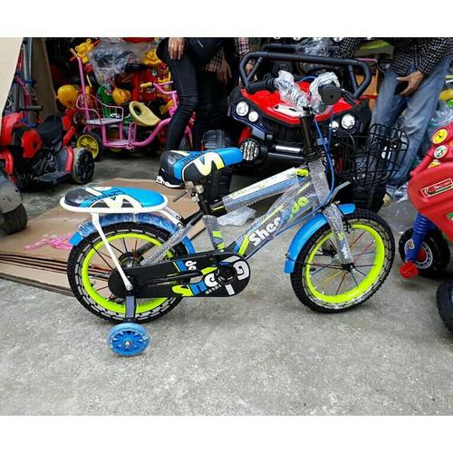 Xe đạp thể thao shengda bánh 14 inch cho bé 4 5t