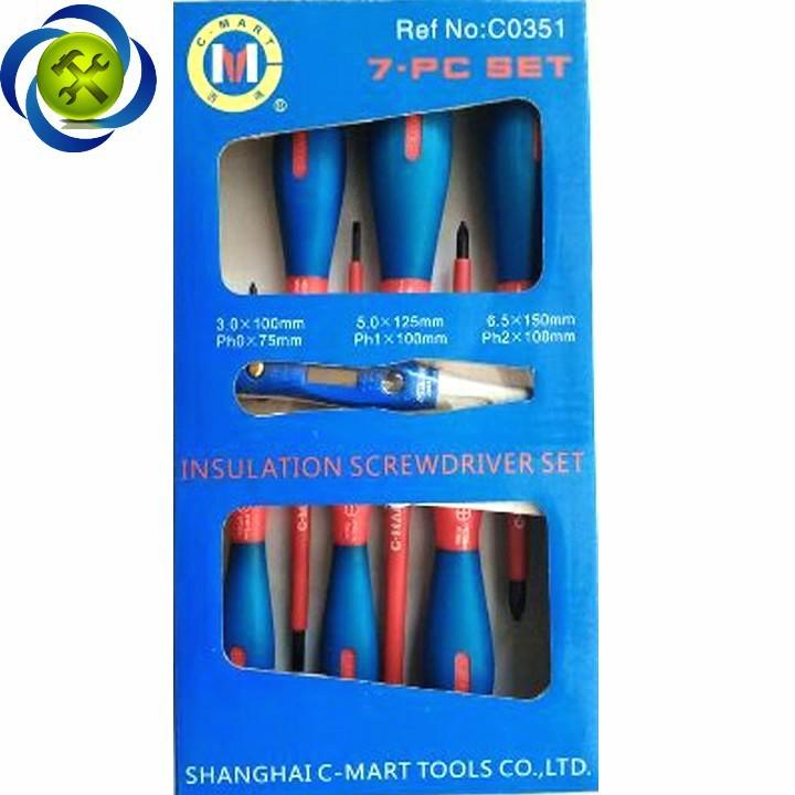 Bộ vít cách điện C-MART C0351 7 chi tiết 6